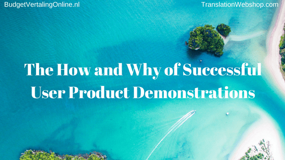 'The How and Why of Successful User Product Demonstrations' In this blog, I explore in depth product demonstration videos made by users. There are several reasons why you would want user product demonstrations and several reasons why you would not want them. I also list 7 features that successful product demonstration videos have in common. Read the blog here: http://bit.ly/UserProdDemo