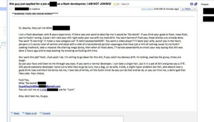7 Funniest Cover Letters