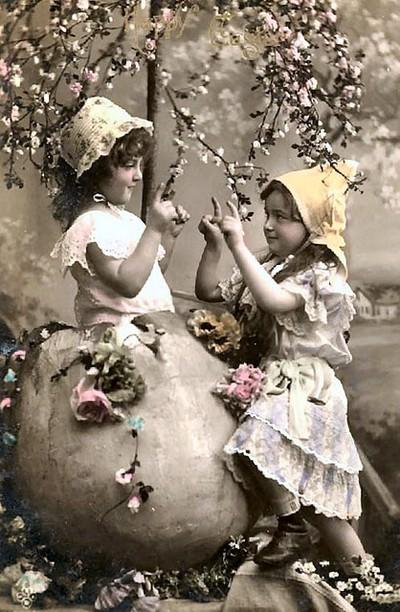Bildresultat för gamla påskbilder