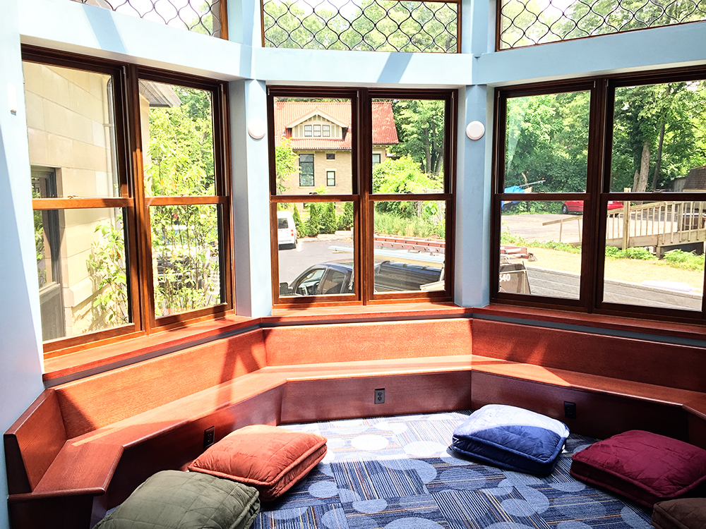 A Look Inside the Clifton Branch Library   Cincinnati Magazine The library uses this solarium for children s storytime