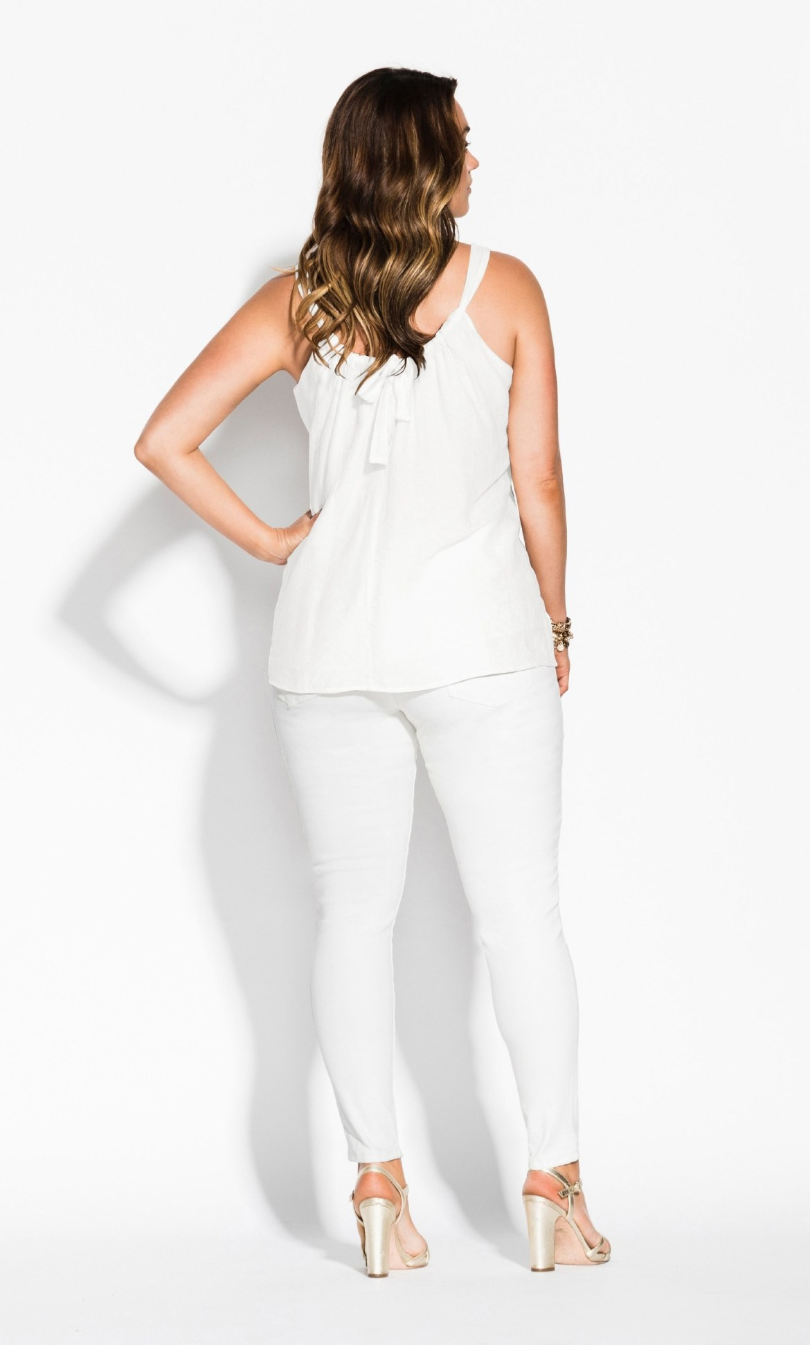 Betty Bow Top - ivory 5