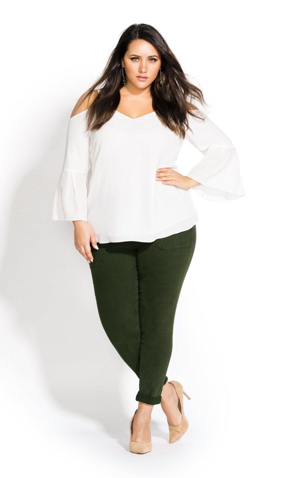 Simple Bell Top - cream 5