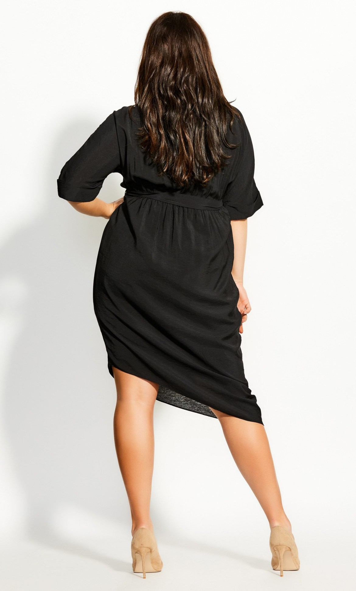 Asymmetrical Dress - black 8