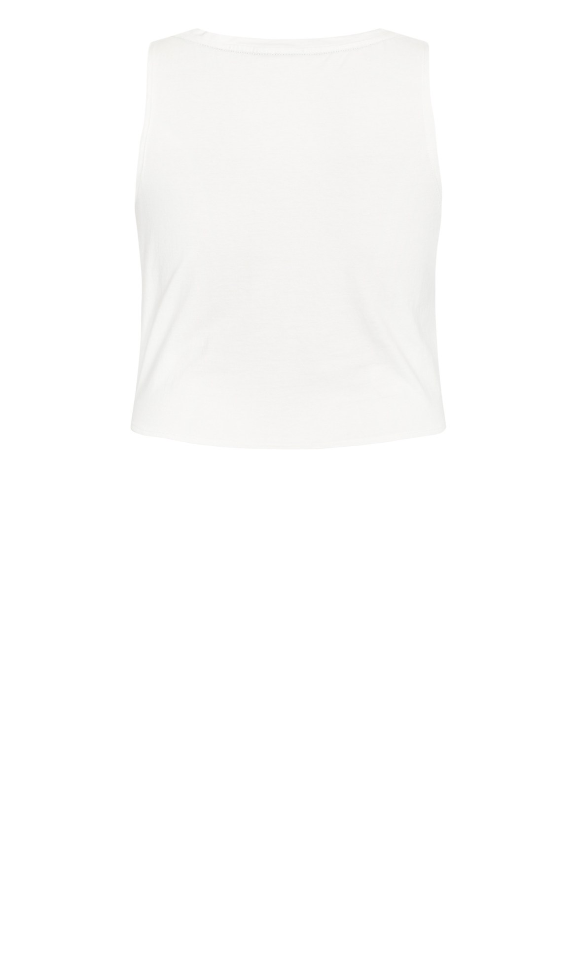 Active Knot Front Top - ivory 8