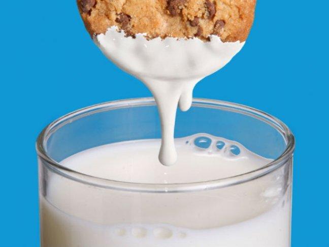 Resultado de imagen para galletas con leche