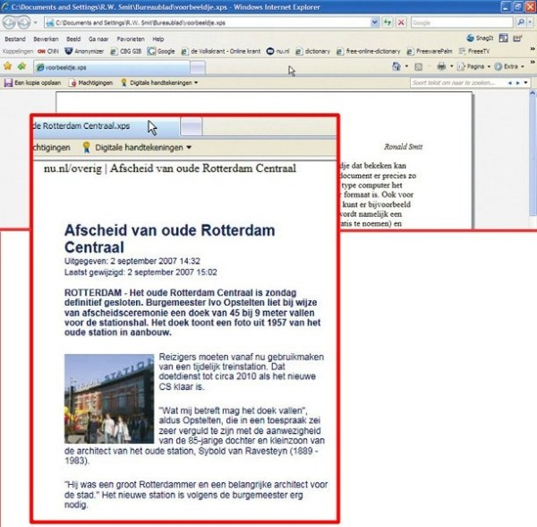 Gratis alternatief van Microsoft: XPS naast PDF | Computer ...