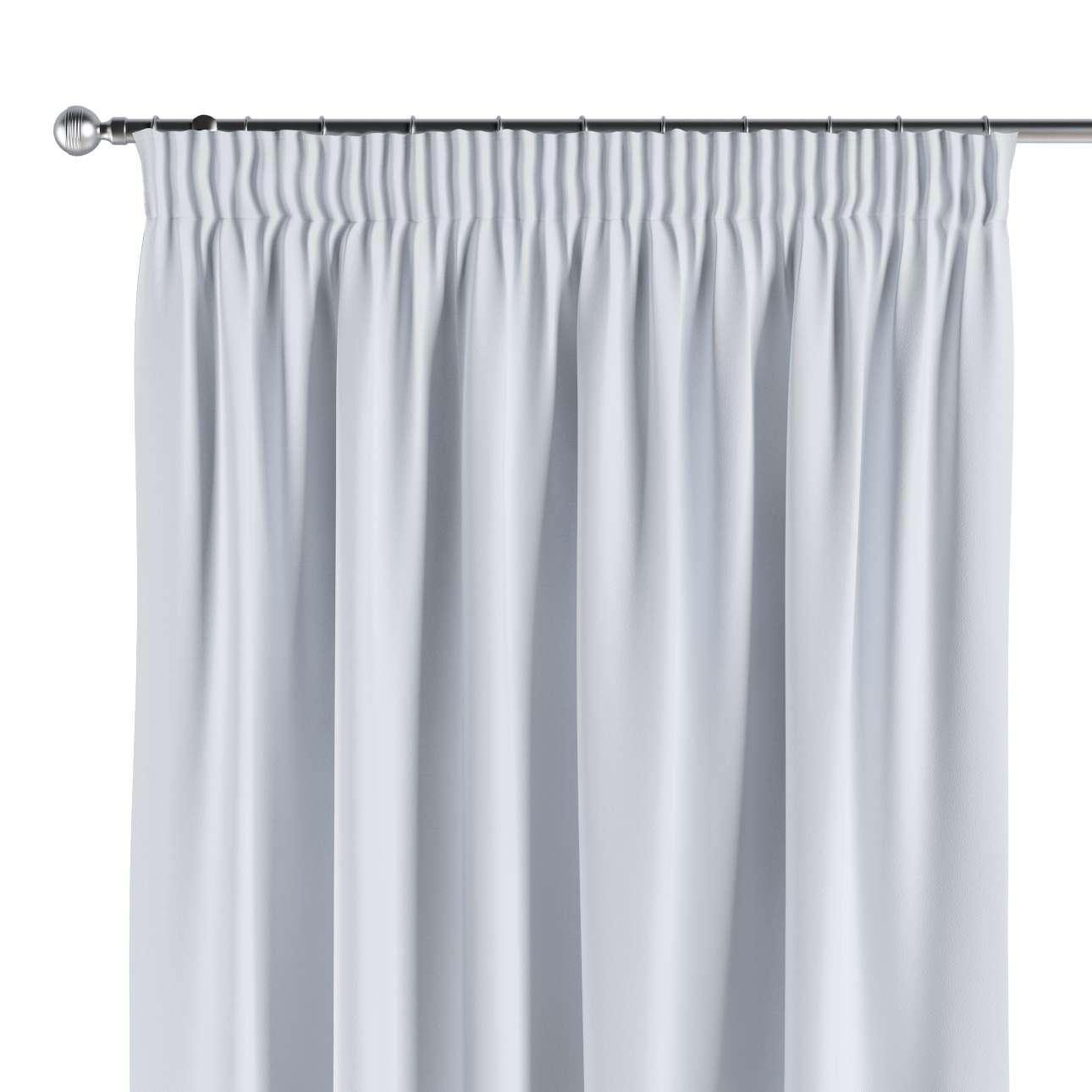 Blackout Pencil Pleat Curtains Off Whitepale Greyish Dekoria