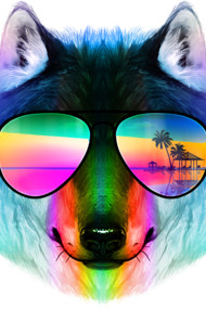 Summer Wolf II Shirts. Enjoy the summer! by Designs by Human