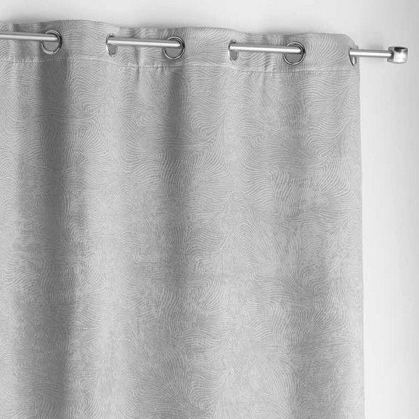 rideau occultant 140 x 240 cm dreamtime gris