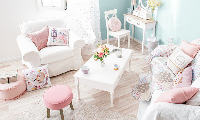 tendance deco style shabby chic eminza