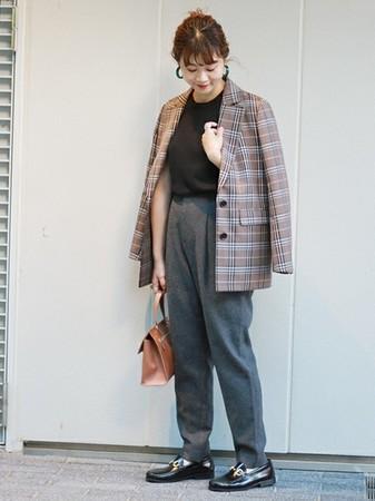 秋冬通勤必備!5套日本小資女的格紋西裝外套穿搭 | ET Fashion | ETtoday新聞雲