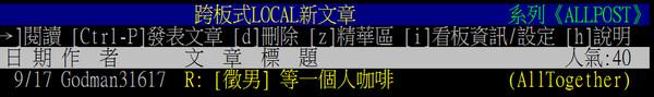 張彥文PTT帳號被搜出 暱稱「大師好棒阿」透露自戀 | ETtoday社會 | ETtoday新聞雲