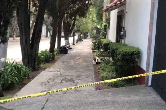 El cuerpo quedó cerca de una jardinera en la colonia Lomas Virreyes