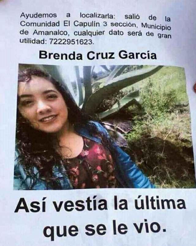 La joven envió una fotografía el mismo día que desapareció.