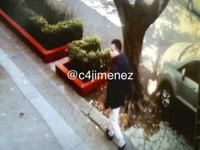 Imagen de uno de los delincuentes que siguió al sacerdote para asaltarlo