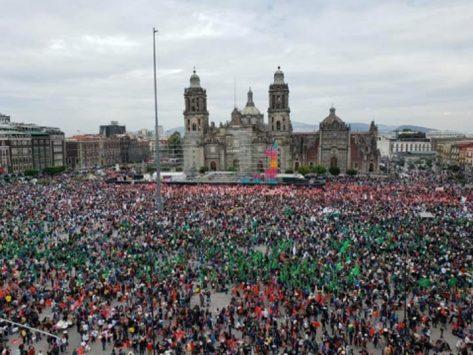 Resultado de imagen para Concentra el Zócalo capitalino a alrededor de 100 mil campesinos