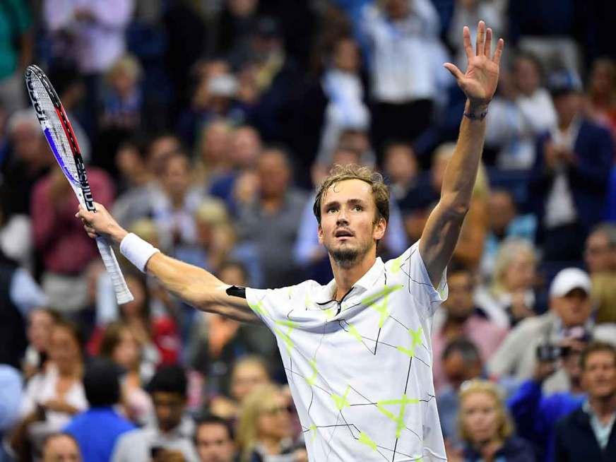 Medvedev; primer finalista del US Open | Excélsior