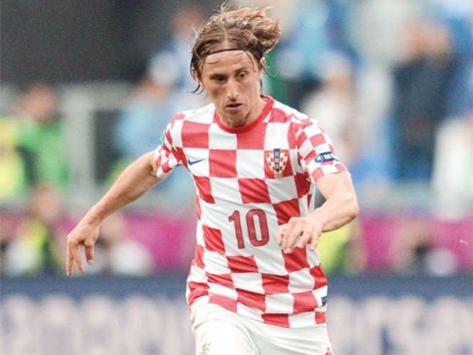 Luka Modric, es quizá junto a Mario Mandzukic y a Ivan Rakitic, lo más talentoso de Croacia. Foto: AP