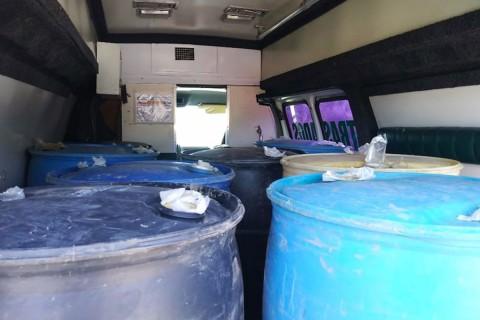 La ambulancia arrojó reporte positivo vigente de robo en Tlalnepantla, Estado de México, en junio. Foto: Emmanuel Rincón/ Corresponsal