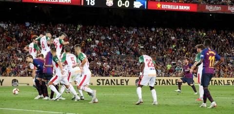Gol Seis Mil, Tiro Libre, Messi, Barcelona,