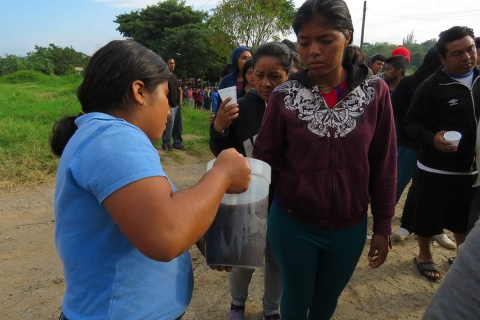 News from Today, Hondurans Run Salvadorans Arrive Oaxaca, Hondurans Run Salvadorans Oaxaca, Hondurans Run Salvadorans, Migrants, Violence, Solidarity, Oaxaca