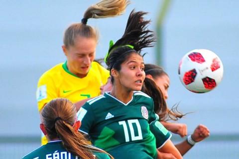 Selección Mexicana Femenil sub 17 vence Brasil Mundial, México femenil vence Brasil, Mundial Sub 17 Femenil, Selección Mexicana, México Brasil, Futbol Femenil, Vanessa Buso, Grupo B, Copa Mundo, Tricolor, Noticias, Adrenalina, Excélsior,
