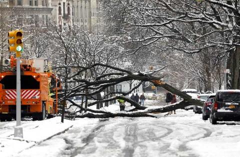 Tormenta invernal causa estragos en noreste de Estados Unidos