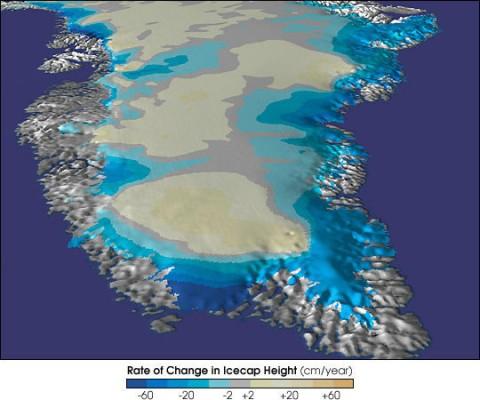 Alertan que Groenlandia se derrite a ritmo acelerado