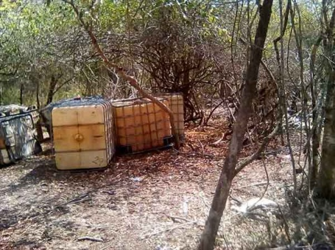 Marina asegura tanques cisterna con 48 mil litros de huachicol en Veracruz