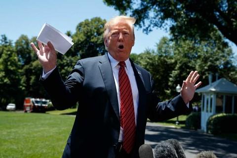 Acuerdo secreto con México entra en vigor cuando yo quiera: Trump