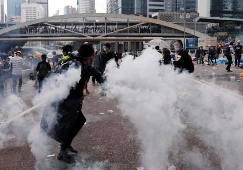 'Que se joda China', así es la rebelión en Hong Kong contra el gobierno