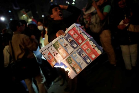 Sorpresa y tensión en Bolivia: Evo Morales amarra reelección