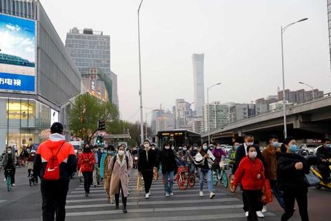 Por primera vez, China reporta cero muertes por coronavirus