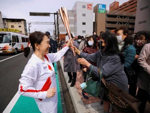 antorcha olimpica tokio 0104212 Pausa MX En Osaka no quieren relevos de la antorcha olímpica
