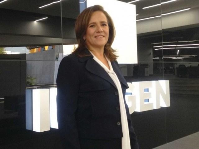 La candidata presidencial por el PAN, Margarita Zavala, en Ciudad Imagen, en marzo pasado.