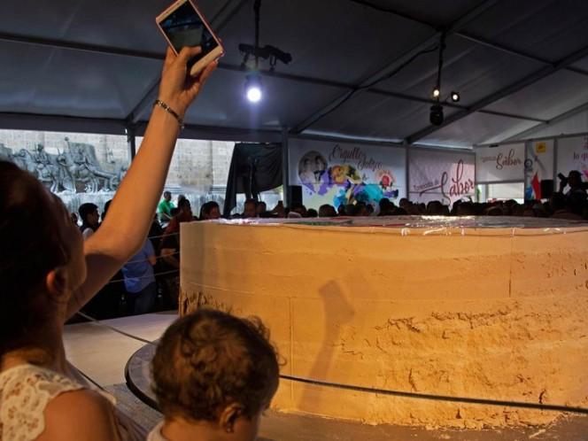 México obtiene Guinness por el mazapán más grande del mundo