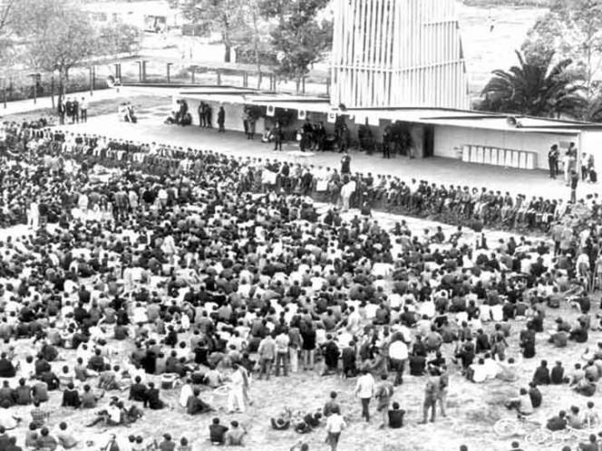 Histórico 1968: el paro sigue y la marcha va