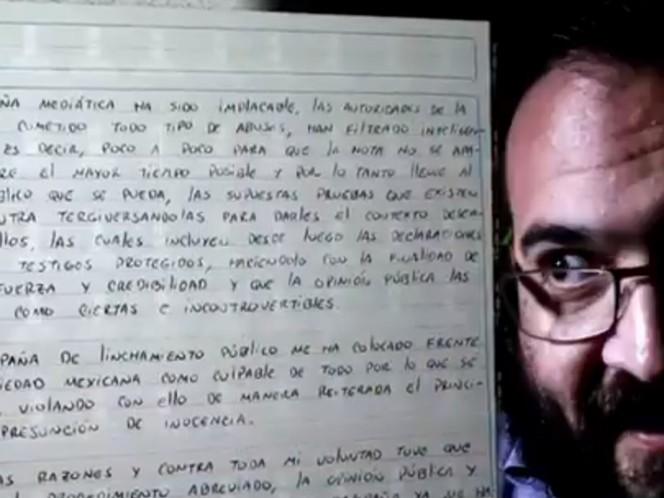 Javier Duarte dice que reconocerse culpable ha sido la decisión más difícil de su vida / Foto: Especial
