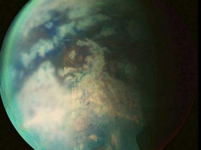 Discover possible rivers and lakes on the surface of Titan, the moon of Saturn