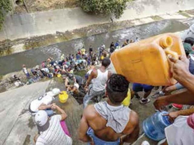 Acopian aguas residuales en Venezuela
