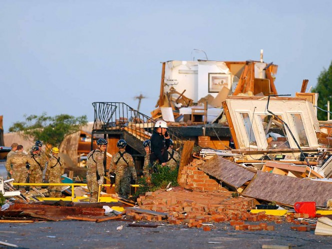 Oklahoma, Tornado, Seguridad, Destrucción, Heridos, Muertos, Damnificados, Estados Unidos