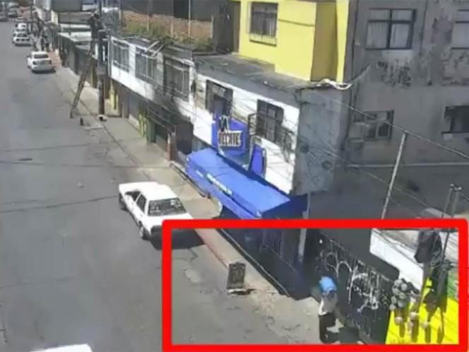 Captan en video a presunto asesino y violador de niña de 6 años