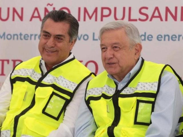 Abuchean al 'Bronco' en acto de López Obrador