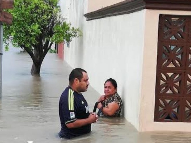 'Hanna' leaves 2 dead and 60 affected colonies in Tamaulipas