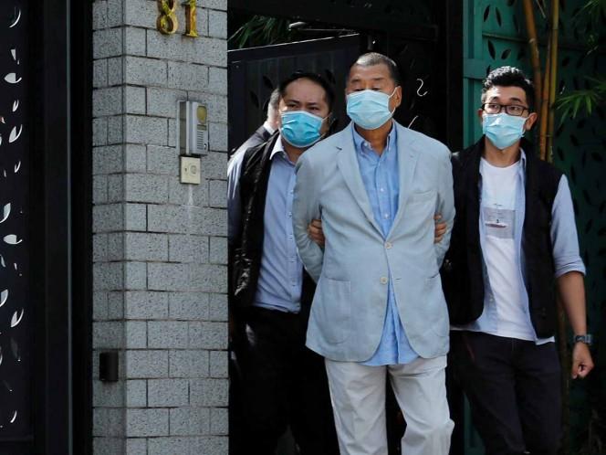 Policía de Hong Kong arresta a magnate prodemocracia Jimmy Lai
