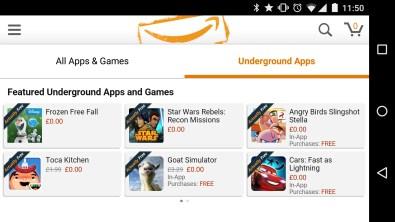 amazon underground application