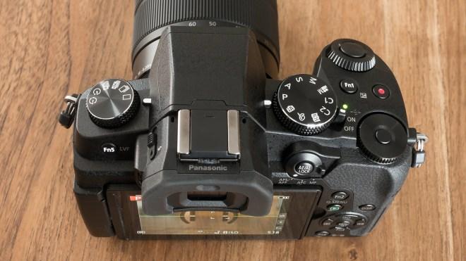 Panasonic G80 top