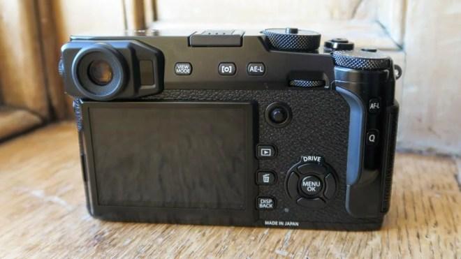 Fujifilm X-Pro2 back