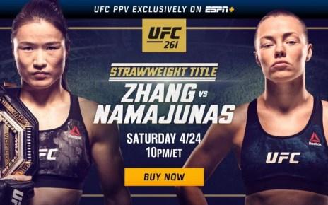 How to watch UFC 261: Usman vs Masvidal 2