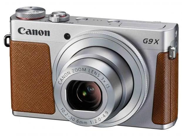 Canon PowerShot G9 X silver tan